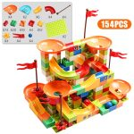 77-308pcs Marble Race Run Blocks Set