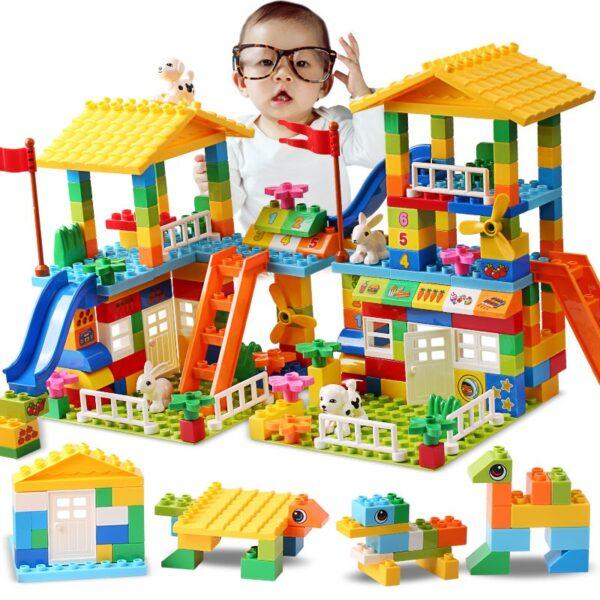 City House Big Size Slide Building Blocks