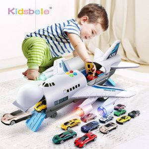 Kids Music & Light Passenger Plane