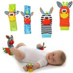 Infant/Baby Socks and Wrist Rattles