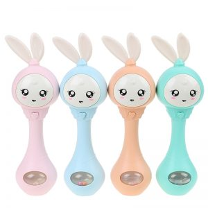 Baby Music Rabbit Bell Toy