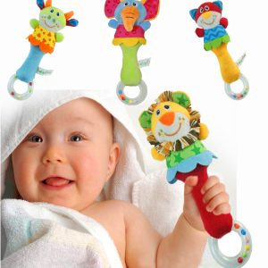 Baby/Infant Animal Hand Rattle Toys