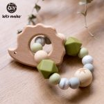 Baby/Infant Wooden Rattle Toy