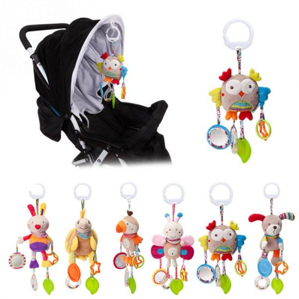 Baby/Infant Bed Stroller Mobile Hanging Rattles