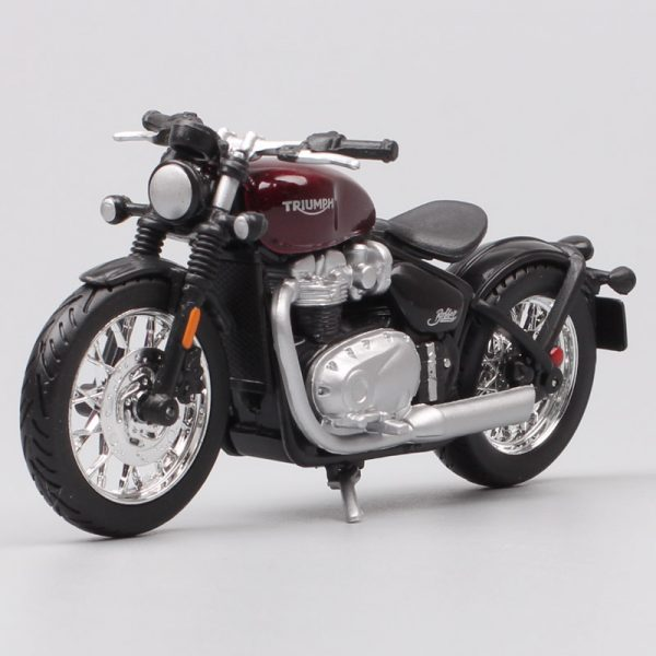 Mini Triumph Bonneville Bobber Diecast Bike