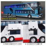 Simulation High Double Sightseeing Bus