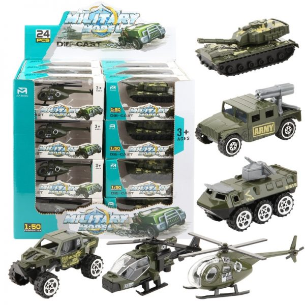 Alloy & ABS Military Model Simulation Set