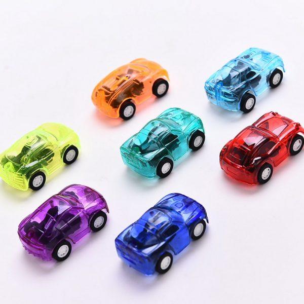 Pull Back Mini Plastic Vehicle