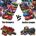 Alloy Diecast The Avengers vs Justice League Vehicles