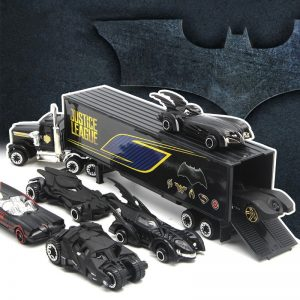 Alloy Justice League Car Set