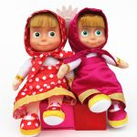Cute Masha Girls Stuffed Dolls