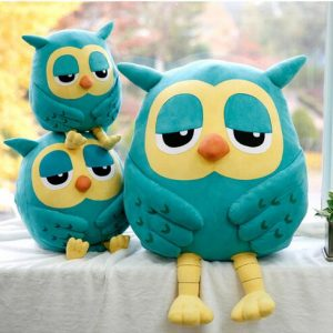 Night Owl Plush Baby Toy