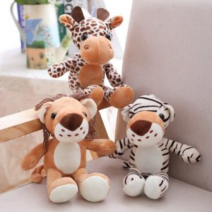 Forest Animals Stuffed Doll