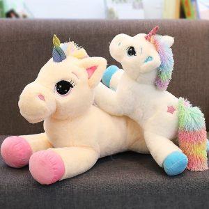 Soft Rainbow Unicorn Plush Toy
