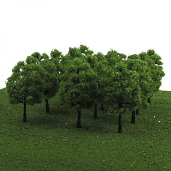 20pcs Mini Model Trees