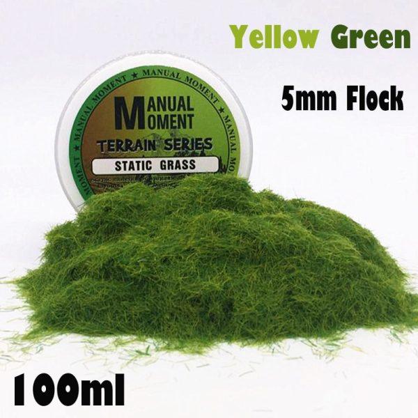 Yellow Green Terrain Series Model Grass
