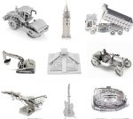 3D DIY Metal Different Vehicles Model Kit