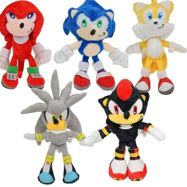 Sonic and Friends Plush Dolls