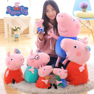 Peppa Pig Family Plush Dolls