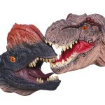 Plastic Dinosaur Hand Puppets
