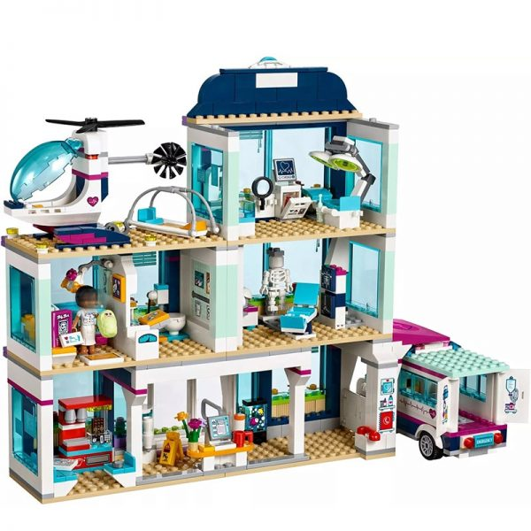 City Hospital Building Block Set