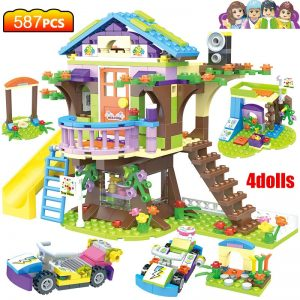 Tree House Stacking Building Blocks