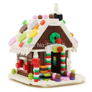 Gingerbread House Building Bricks