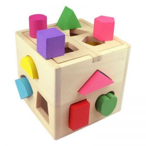 13 Hole Intelligence Box Geometry Shape Puzzle Toy