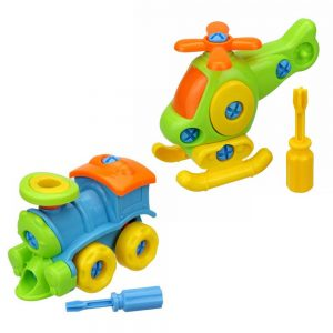 Helicopter/Train Early Kids Toy