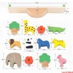 Wooden Animals Stacking Blocks