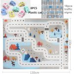 Baby Traffic Play Mat and Vehicles