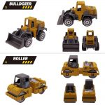 6pcs Alloy Mini Engineering Car Models