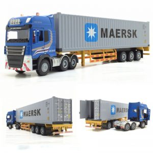 Alloy Metal Truck/Trailer Toy