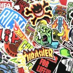 100pcs Cool Fashion Stickers