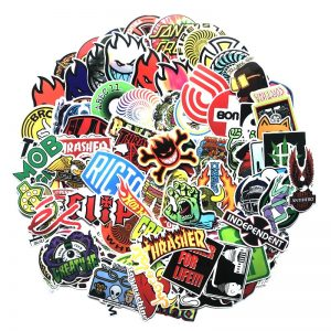 100pcs Cool Fashion Stickers