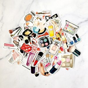45pcs Fashion Beauty Decorative Sticker
