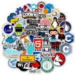 50pcs Geek Programmer Stickers