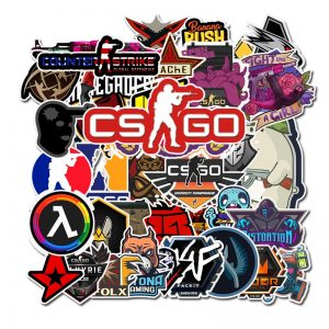 50pcs Counter Strike GO Stickers
