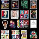 50pcs The Big Bang Theory Stickers
