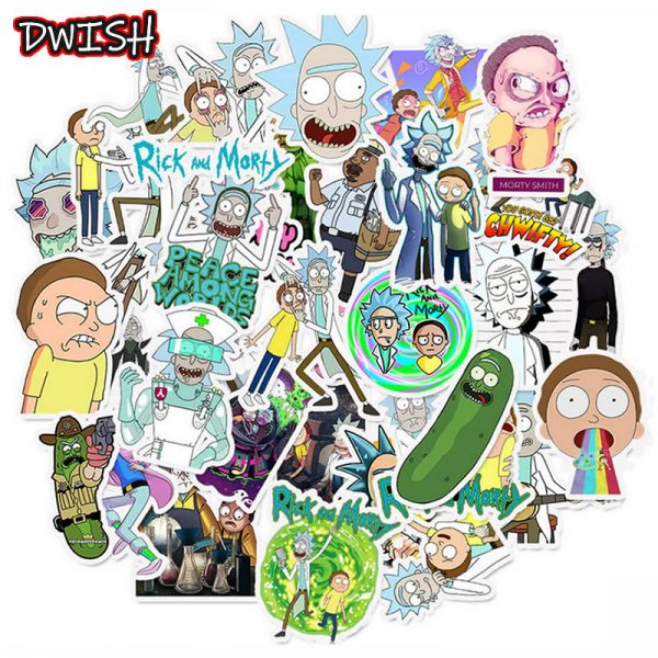 10/30/50pcs Rick and Morty Stickers