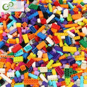 1100pcs/500pcs Building Blocks/Bricks Bulk Set