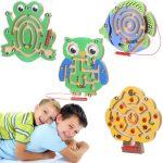 Kids Wooden/Magnetic Maze Board