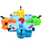 Hungry Hippo Marble Feeding Game