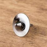 1pc Metal Spinning Top with Dice