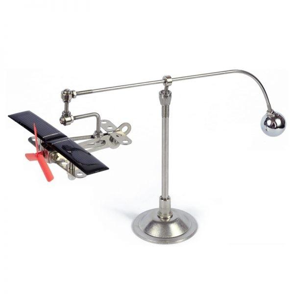 Hi-Tech Solar Mini Aircraft Novelty Toy