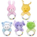 Cute Baby Rattle Toys