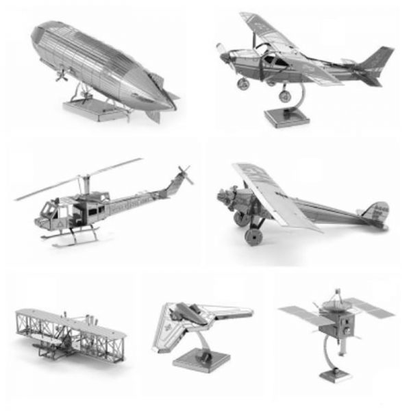 3D DIY Metal Assembly Model Kit