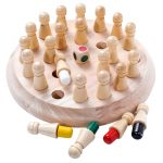 Kids Wooden Memory Match Stick Game