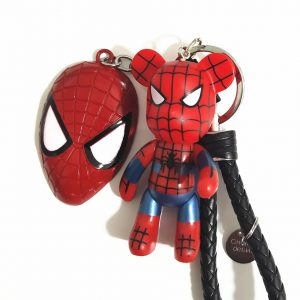 Cartoon Batman/Spiderman Keychain/Keyring
