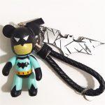 Cartoon Batman/Spiderman Keychain/Keyring